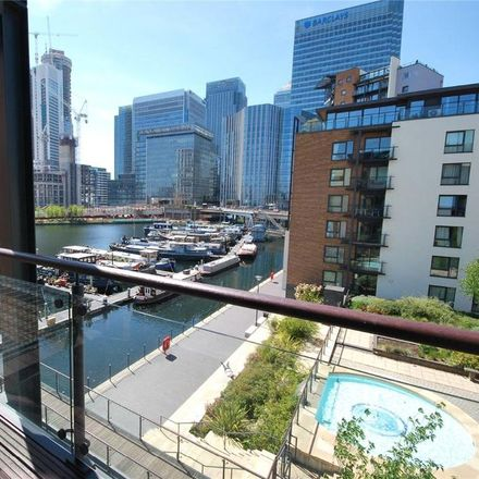 Rent this 2 bed apartment on Boardwalk Place in London E14 5SE, United Kingdom