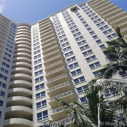 Rent this 2 bed condo on 19501 West Country Club Drive in Aventura, FL 33180