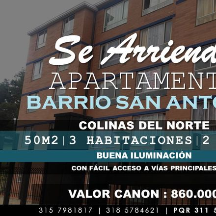 Rent this 3 bed apartment on Carrera 6B in UPZ Verbenal, 101141 Localidad Usaquén