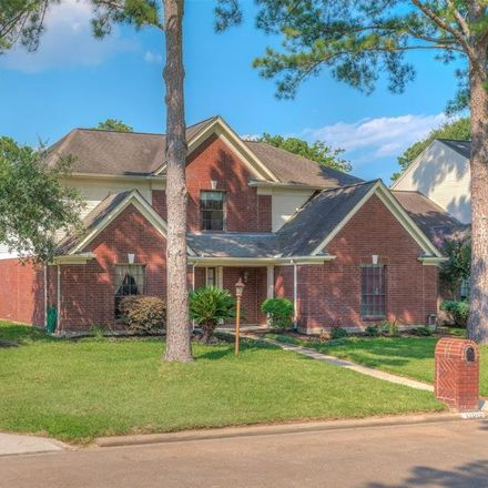 Rent this 5 bed house on 17018 River Willow Drive in Champion Forest, TX 77379