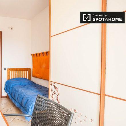 Rent this 1 bed apartment on Via Alberto Burri in 00173 Rome RM, Italy