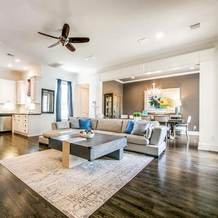 Rent this 3 bed condo on 3718 Wycliff Avenue in Highland Park, TX 75219