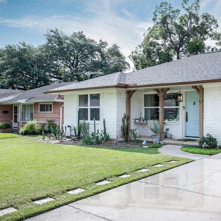 Rent this 2 bed house on 815 Sara Rose Street in Houston, TX 77018