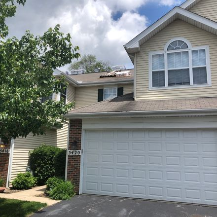 Rent this 3 bed townhouse on 5420 Mayflower Court in Rolling Meadows, IL 60008