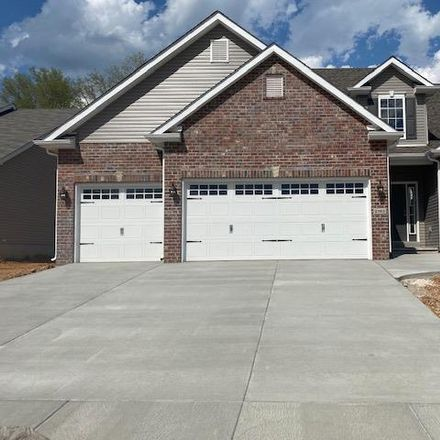 Rent this 4 bed house on Birchwood Trail Ct in Maryland Heights, MO
