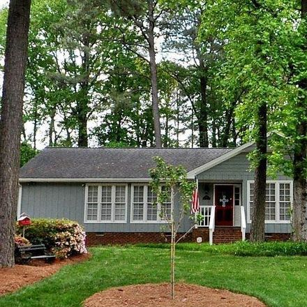 Rent this 3 bed house on 8313 Running Cedar Trail in Raleigh, NC 27615
