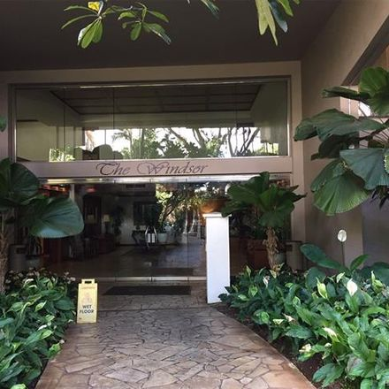 Rent this 1 bed condo on 343 Hobron Lane in Honolulu, HI 96815