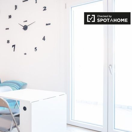 Rent this 1 bed apartment on Via del Portico Placidiano in 00054 Fiumicino Roma Capitale, Italy