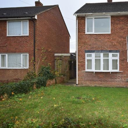 Rent this 3 bed house on Prospero Way in Huntingdonshire PE29 1PG, United Kingdom