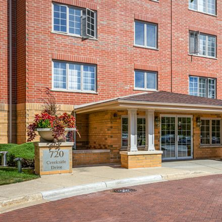Rent this 2 bed condo on 720 Creekside Drive in Mount Prospect, IL 60056