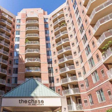 Rent this 2 bed apartment on 7500 Woodmont Avenue in Bethesda, MD 20814
