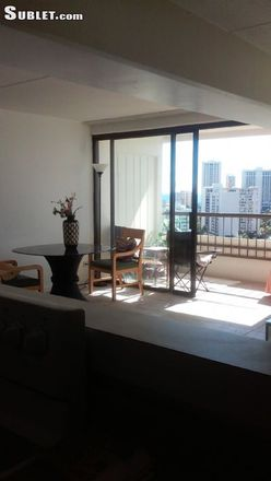 Rent this 3 bed apartment on McDonald's in South King Street, Honolulu