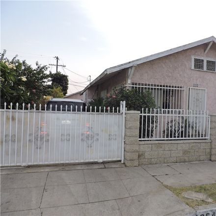 Rent this 3 bed house on 864 East 53rd Street in Los Angeles, CA 90011