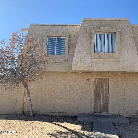 Rent this 3 bed townhouse on 4022 South 44th Way in Phoenix, AZ 85040