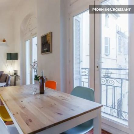 Rent this 1 bed apartment on École maternelle Moulins in Rue des Muettes, 13002 Marseille