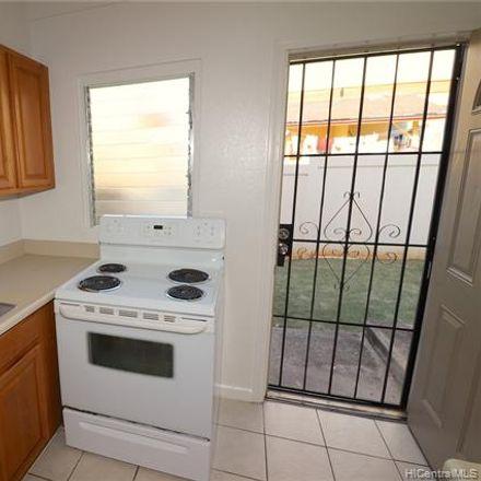 Rent this 2 bed condo on 3632 Salt Lake Boulevard in Honolulu, HI 96818