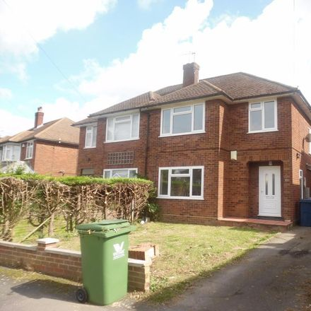 Rent this 3 bed house on Tom Burt's Wood in Carver Hill Road, High Wycombe HP11 2TY