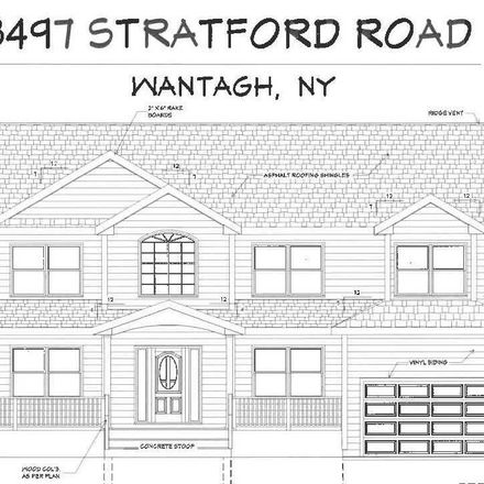 Rent this 5 bed apartment on 3497 Stratford Road in Wantagh, NY 11793