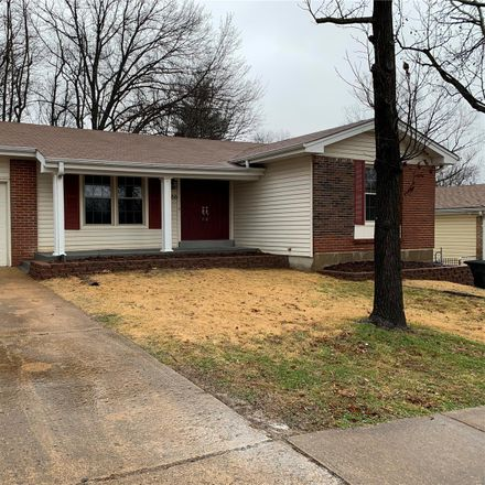 Rent this 3 bed house on 1266 Greenmar Dr in Fenton, MO