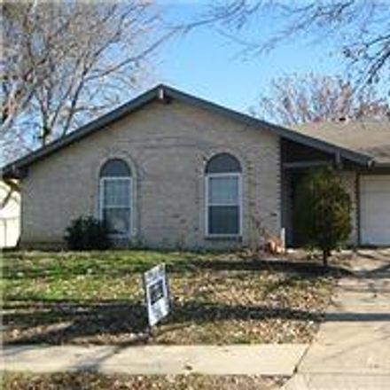Rent this 4 bed house on 1215 Cove Drive in Garland, TX 75040