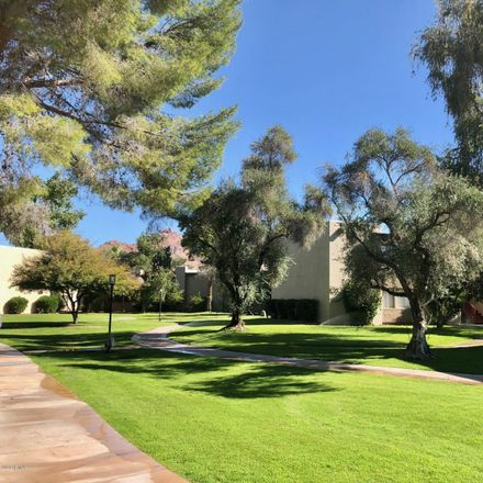 Rent this 2 bed apartment on East Camelback Road in Phoenix, AZ 85018