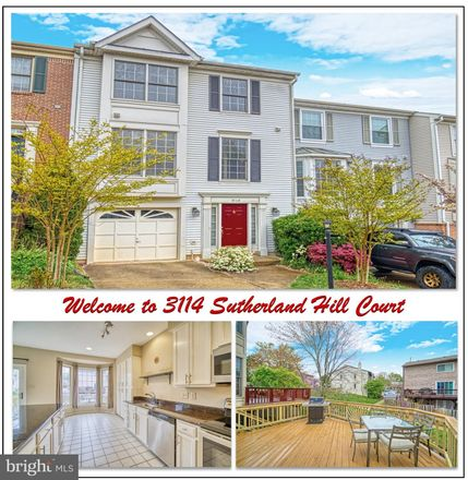 Rent this 3 bed townhouse on 3114 Sutherland Hill Court in Fairlee, VA 22031