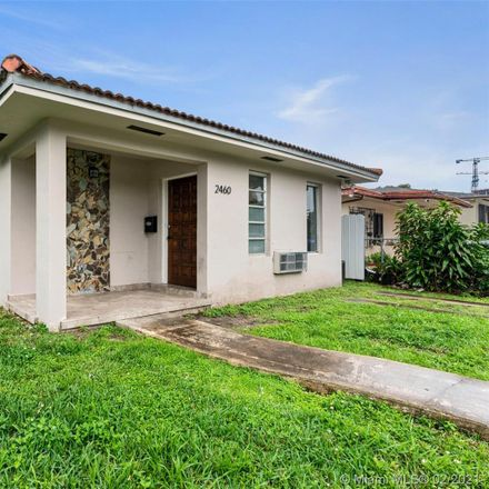 Rent this 3 bed duplex on 2460 Southwest 36th Avenue in Miami, FL 33145