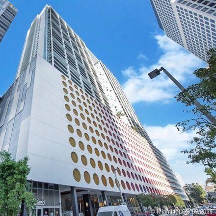 Rent this 1 bed condo on 500 Brickell Avenue in Miami, FL 33131