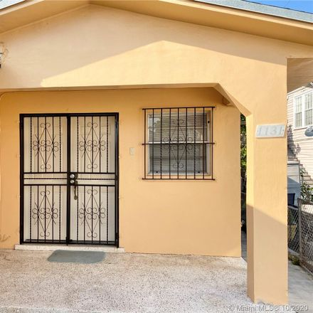Rent this 2 bed duplex on 1131 Southwest 9th Street in Miami, FL 33130