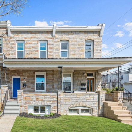 Rent this 3 bed townhouse on 3803 Conduit Avenue in Baltimore, MD 21211
