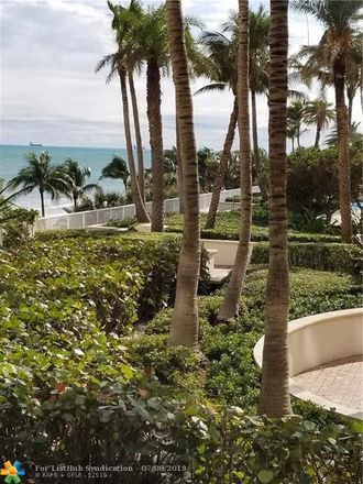 Rent this 2 bed condo on 3200 North Ocean Boulevard in Fort Lauderdale, FL 33308