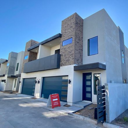 Rent this 3 bed townhouse on 6301 North 12th Street in Phoenix, AZ 85014