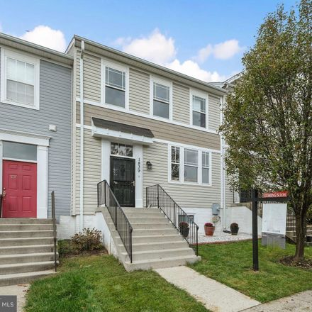 Rent this 4 bed townhouse on 1839 Bruce Place Southeast in Washington, DC 20020