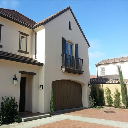 Rent this 3 bed condo on 71 Hanging Garden in Irvine, CA 92618
