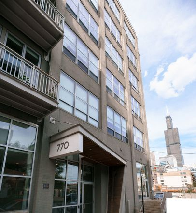 Rent this 2 bed townhouse on 770 West Gladys Avenue in Chicago, IL 60661