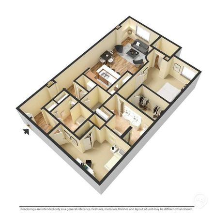 Rent this 3 bed apartment on Club Canine Doggie Daycare & Boarding in City Center Drive, Carmel