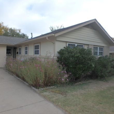 Rent this 3 bed apartment on 3605 Randall Street in Amarillo, TX 79109