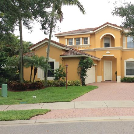 Rent this 4 bed house on 5838 Northwest 119th Drive in Heron Bay South, FL 33076