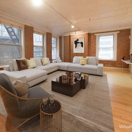 Rent this 2 bed loft on 47 Ann Street in New York, NY 10038
