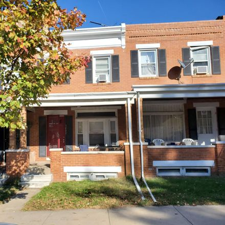 Rent this 3 bed townhouse on 3402 Chesterfield Avenue in Baltimore, MD 21213