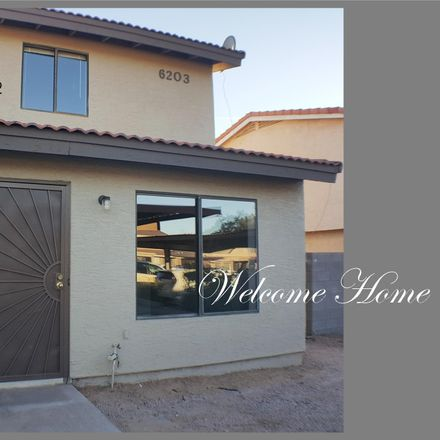 Rent this 3 bed townhouse on 6203 East Glencove Street in Mesa, AZ 85205
