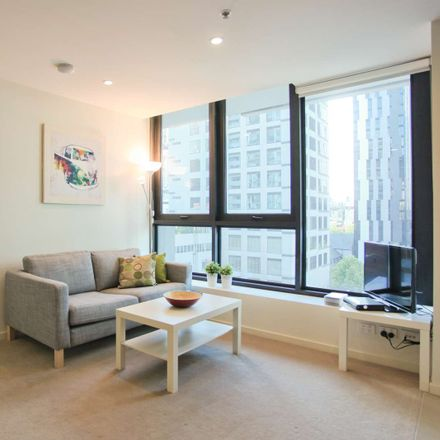 Rent this 1 bed apartment on 701/5 SUTHERLAND STREET