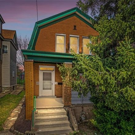 Rent this 4 bed house on 141 Wynoka Street in Pittsburgh, PA 15210