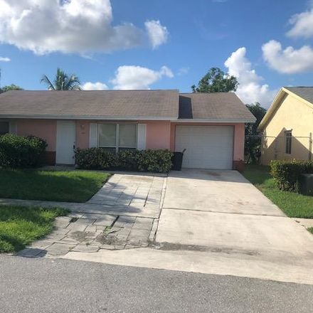 Rent this 4 bed house on 6070 Lambeth Cir in Lake Worth, FL