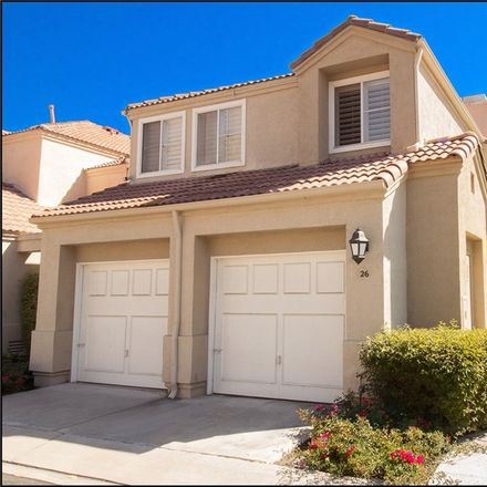 Rent this 3 bed townhouse on 26 Donatello in Aliso Viejo, CA 92656