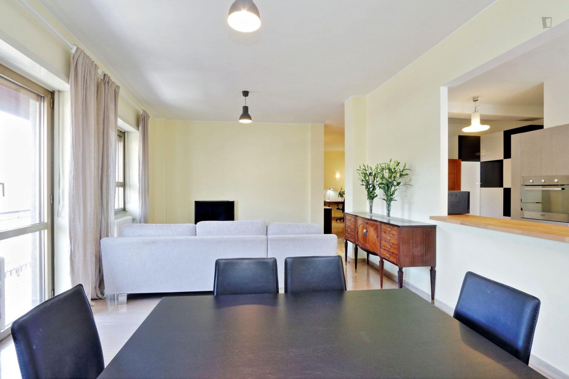 3 bed apartment at INPS Amba Aradam, Via dei Laterani, 00183 Rome ...