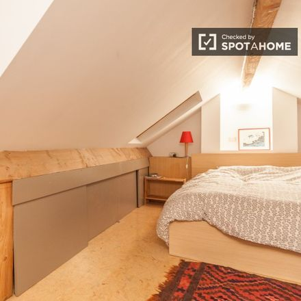 Rent this 1 bed apartment on Rue Blaes - Blaesstraat 195 in 1000 Ville de Bruxelles - Stad Brussel, Belgium