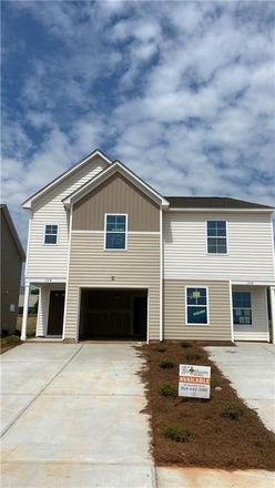 Rent this 3 bed townhouse on Adger Rd in Easley, SC