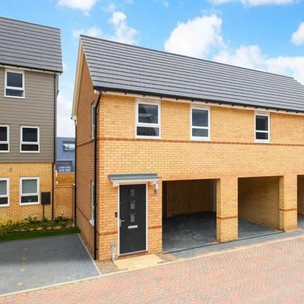 Rent this 2 bed house on Southern Cross in Wixams, MK42 6DX