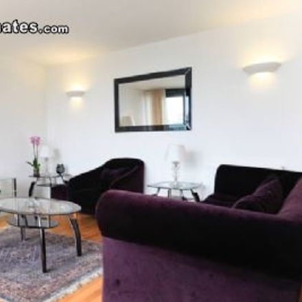 Rent this 2 bed apartment on Elektron Tower in 12 Blackwall Way, London E14 9GB